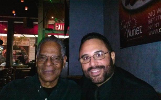 Bush y Roberto Delgado en el Cafe NunŢez NY Nov 15 2013