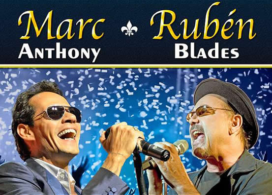 Ruben Blades y Mac Anthony se presentan en Bogotá